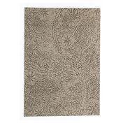 Nanimarquina - Antique Design Teppich - natur/schwarz/Neuseeland-Wolle/200x300cm