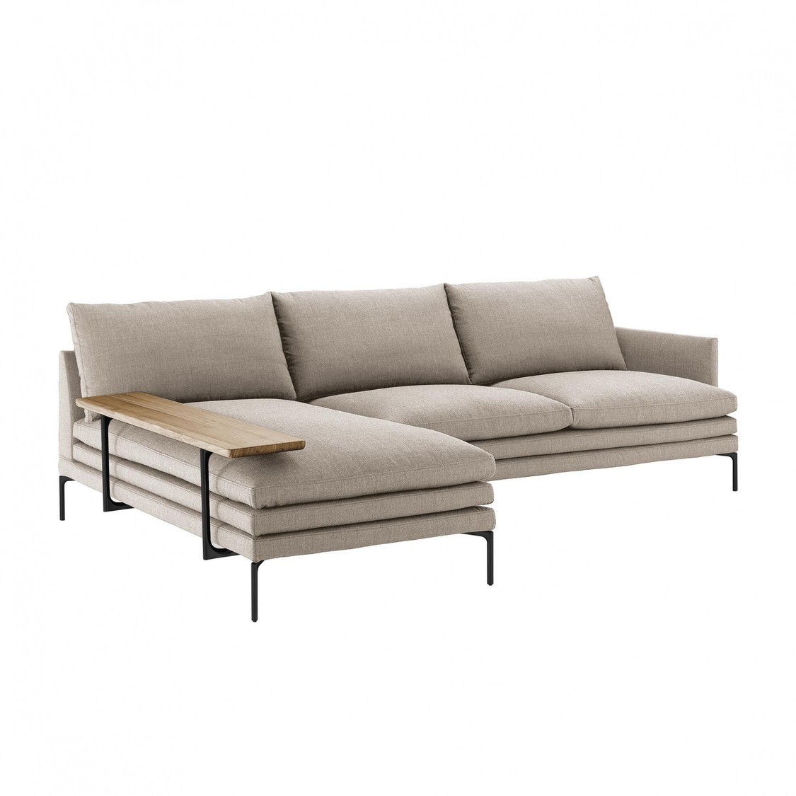 William Sofa With Chaise Longue 310x100cm