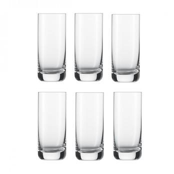 Schott Zwiesel - Convention Longdrink Glas 6er Set - transparent/390ml/H: 15.5cm