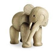 Kay Bojesen Denmark - Kay Bojesen Holzfigur Elefant - Eiche/matt