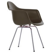 Vitra - Eames Plastic Armchair DAX Chromed Base