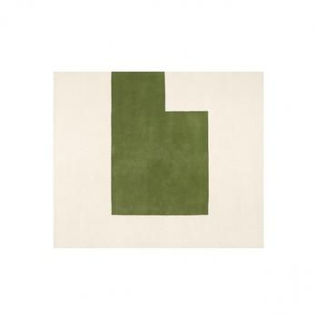 ClassiCon - Kilkenny Teppich - natur/grün / 201x235cm