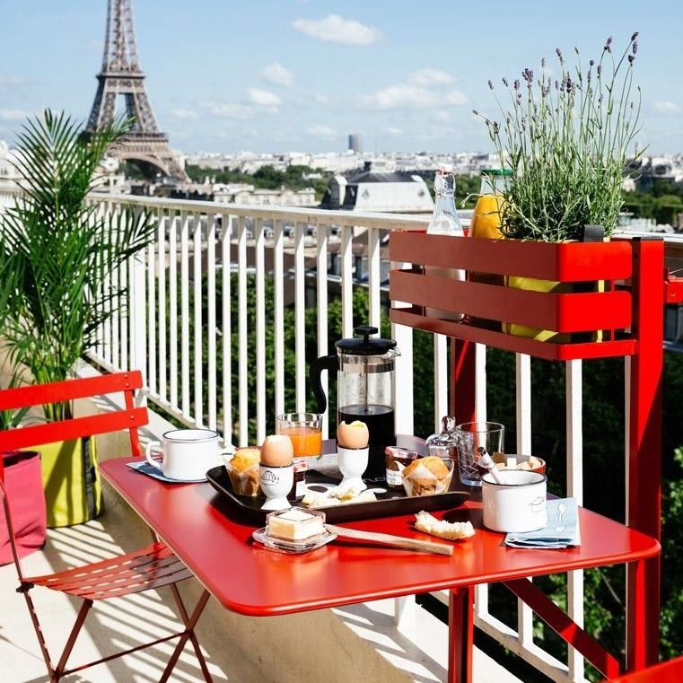 bistro table de balcon fermob. Black Bedroom Furniture Sets. Home Design Ideas