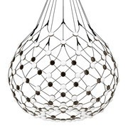 Luceplan - Mesh D86 LED - Suspension Ø100cm