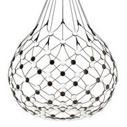 Luceplan - Mesh D86 LED - Pendellamp