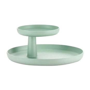 Vitra - Rotary Tray Tablett Ø30cm - mintgrün/oberes Tablett Ø 17cm drehbar