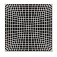 Vondom - F3 Outdoor Teppich - schwarz/200x200cm