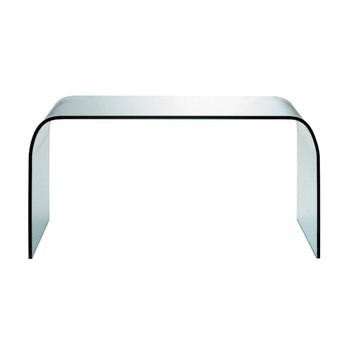 Fontana Arte - Fontana Tisch / Couchtisch - transparent/Glas/120x40cm