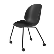 Gubi - Beetle Meeting Chair mit Rollen