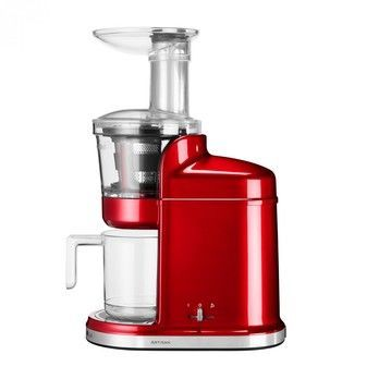 KitchenAid - Artisan 5KVJ0111 Maximal-Entsafter - liebesapfelrot/lackiert/LxBxH 29.2x17.3x45.5cm/250W/220-240V/80 rpm