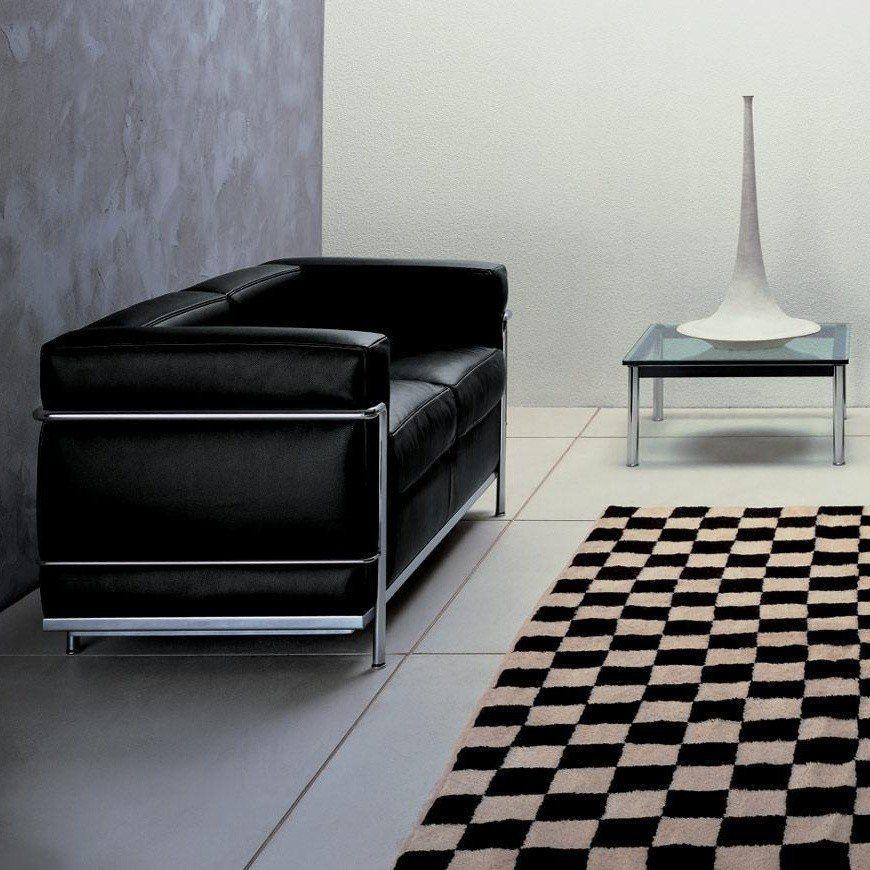 Cassina Le Corbusier LC2 Sofa Two Seater | AmbienteDirect