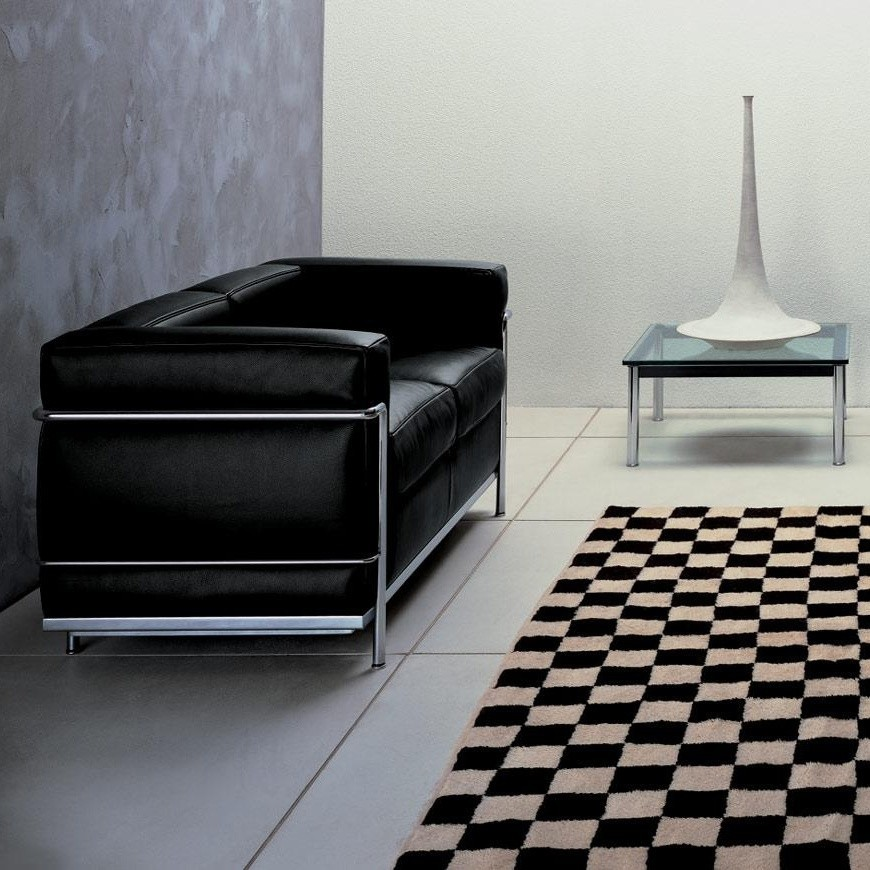 cassina le corbusier lc2 2 sitzer sofa ambientedirect rh ambientedirect com