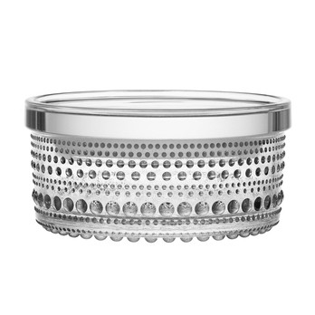 iittala - Kastehelmi Vorratsglas 5,7 cm - transparent/H: 5,7cm, Ø: 11,6cm