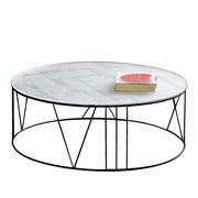 Zeus - Table basse Roma Ø100cm