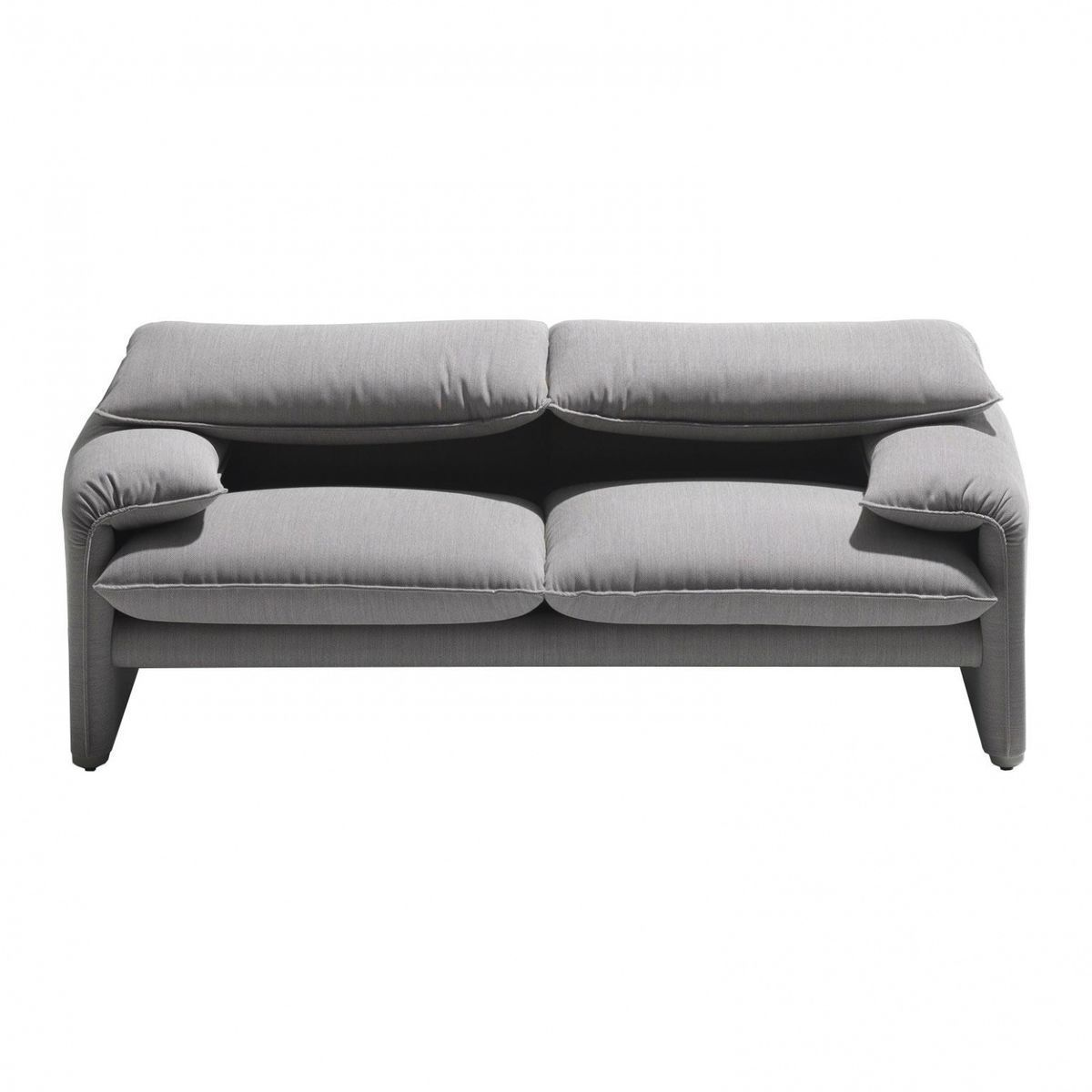 maralunga 40 2 sitzer sofa 190x86cm cassina. Black Bedroom Furniture Sets. Home Design Ideas