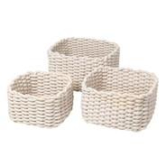 Blomus - Corda Basket Set Of 3