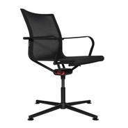 Wagner - D1 Office Chair With Armrests 4-legged