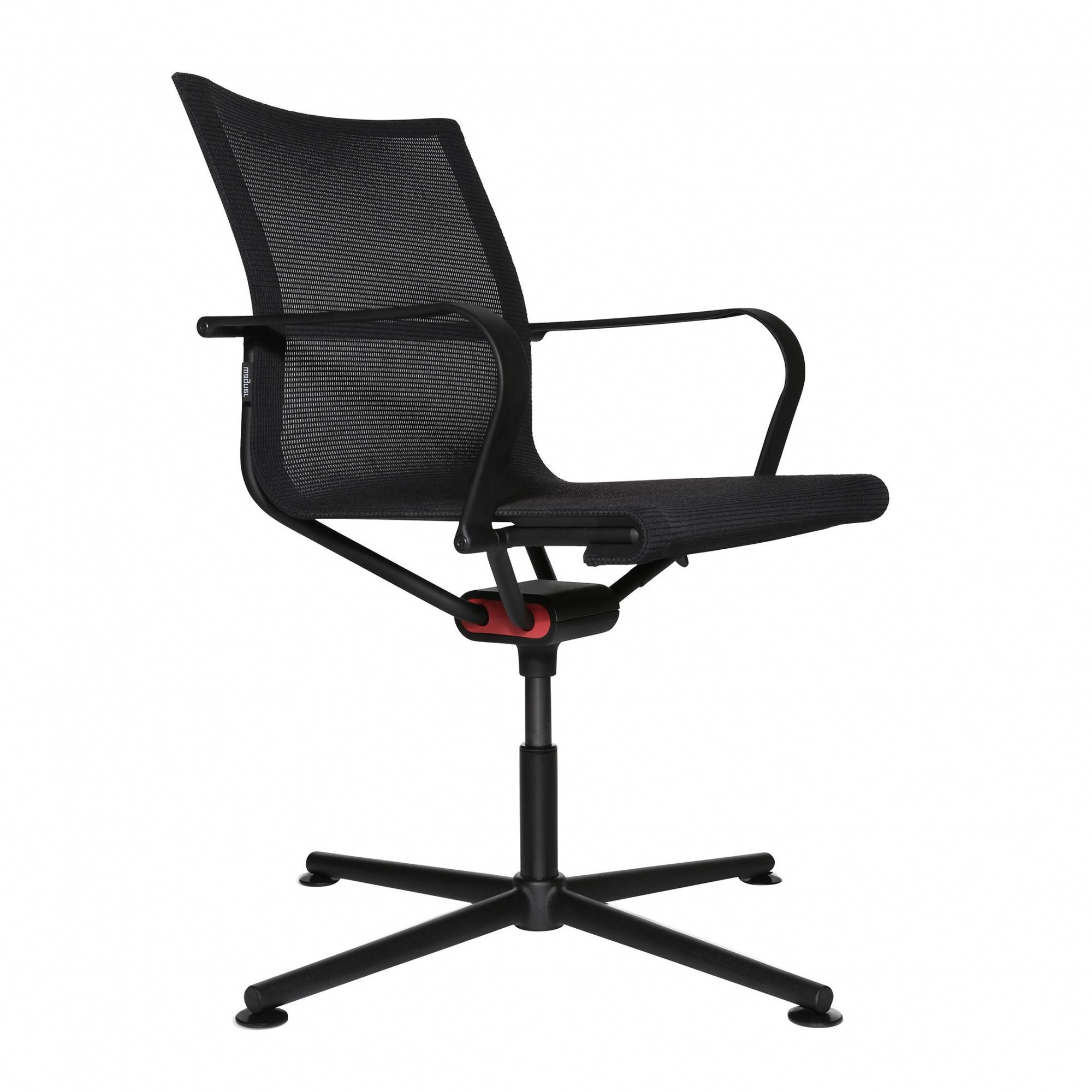 D1 Office Chair With Armrests 4 Legged