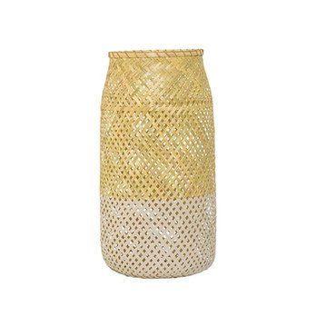 Bloomingville - Bloomingville Bambus Laterne H 50cm - natur/Ø25 x H50 cm