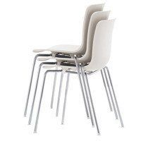 Vitra - Hal Tube Chair Stackable Set Of 4
