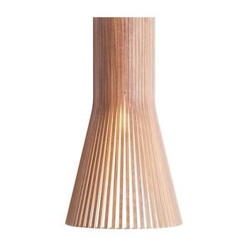 Secto Design - Secto 4231 Wandleuchte - walnuss natur/Furnier/inkl. LED-Birne 2800K/470lm/Kabel weiß