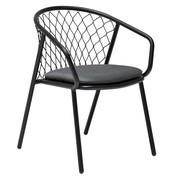 emu - Chaise de jardin avec accoudoirs Nef
