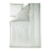 Normann - Cube Bettwäsche - mint/Decke 200x140cm/Kissen 60x63cm