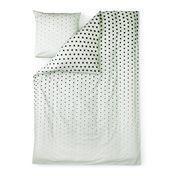 Normann Copenhagen - Cube Bettwäsche - mint/Decke 200x140cm/Kissen 60x63cm