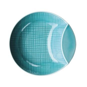 Rosenthal - Rosenthal Mesh Schale tief Ø14cm - blau aqua/glänzend/mikrowellengeeignet