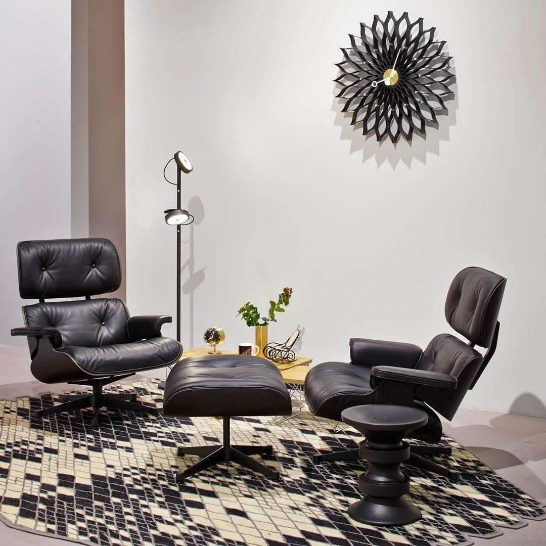 eames lounge chair fauteuil vitra. Black Bedroom Furniture Sets. Home Design Ideas