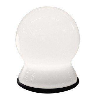 Martinelli Luce - Scafandro Tischleuchte - weiß/Größe 2: Ø23cm/Lieferung ohne Leuchtmittel