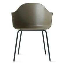 Menu - Harbour Armchair With Black Steel Base