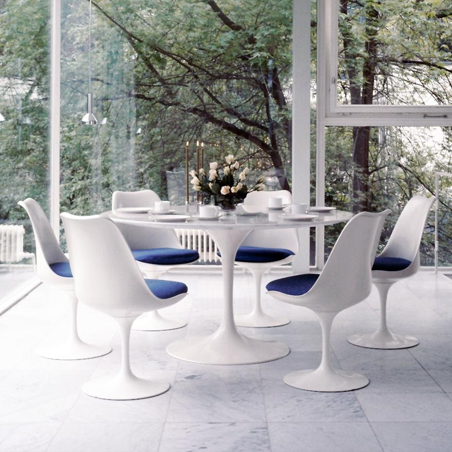Knoll International Saarinen Table O137cm Ambientedirect