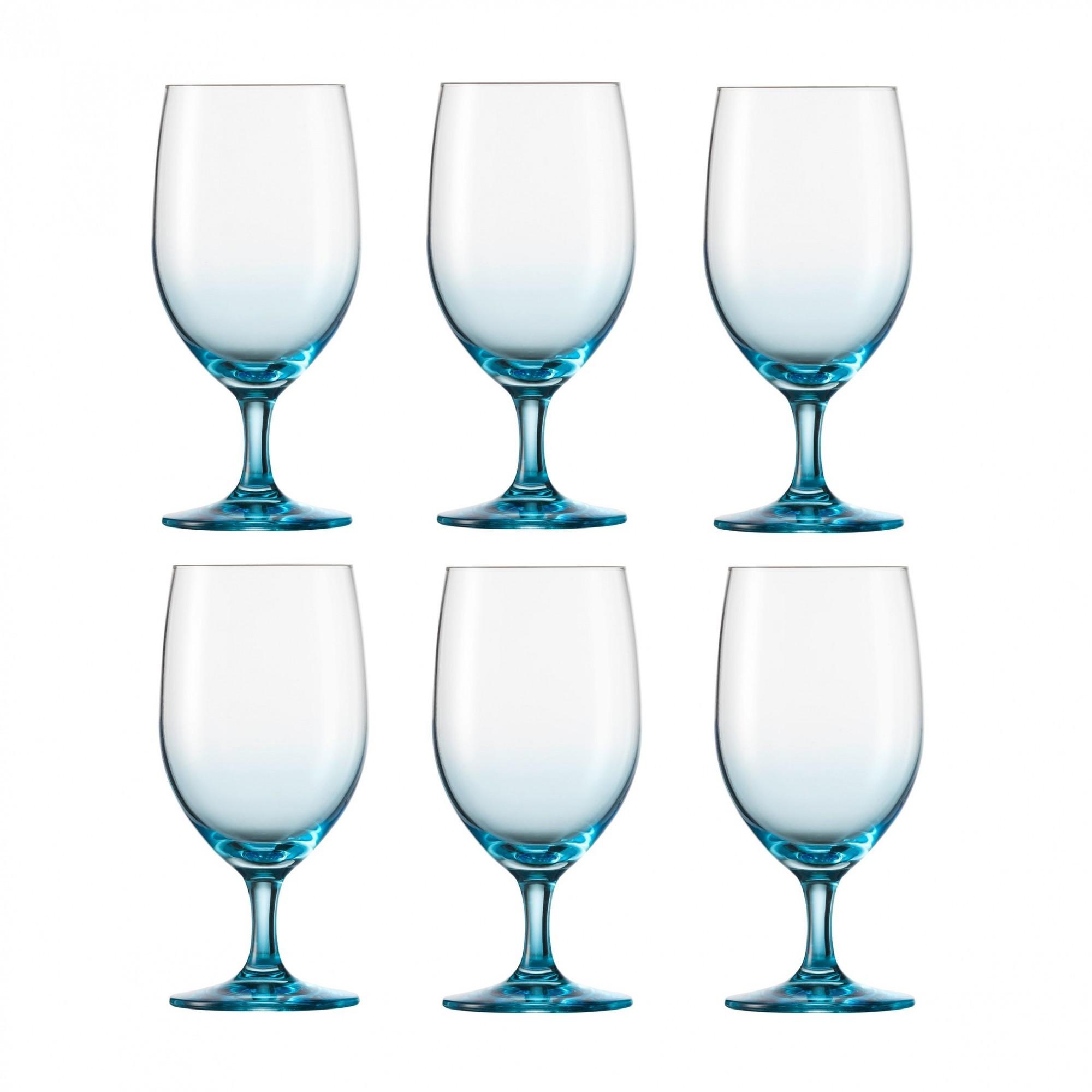 schott zwiesel vina touch water glass set of 6 ambientedirect. Black Bedroom Furniture Sets. Home Design Ideas