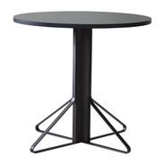 Artek - Table Kaari REB003 chêne noir Ø80cm