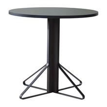 Artek - Kaari REB003 Tisch Eiche schwarz Ø80cm