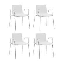 Arper - Catifa 46 Armchair unicoloured Set Of 4