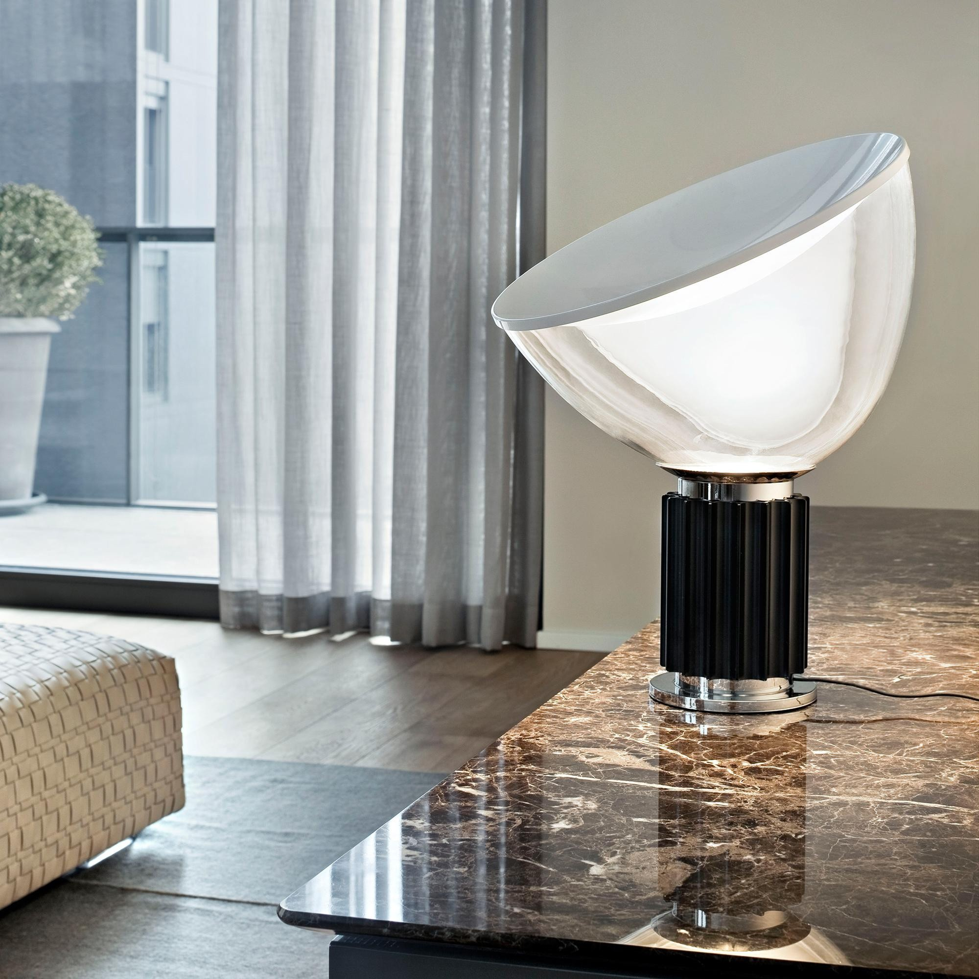 Flos Taccia Led Table Lamp Small Ambientedirect