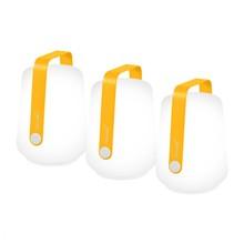 Fermob - Balad LED Akkuleuchte 3er Set H 12cm
