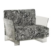 Kartell - Pop Missoni Armchair Frame Transparent