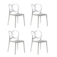 Driade - Sissi Metallic Stuhl 4er Set
