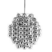 VerPan - Ball Silver Suspension Lamp - silver/glossy