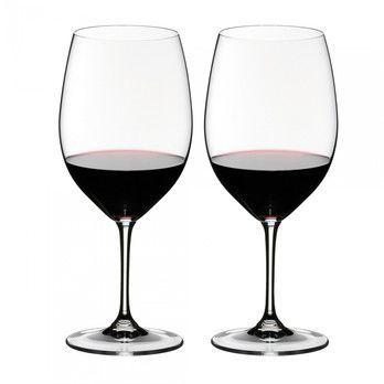 Riedel - Vinum Cabernet Weinglas 2er Set  - transparent/H 22,5cm, 610ccm