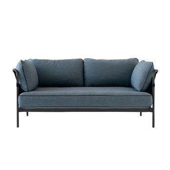 HAY - Can 2-Sitzer Sofa Gestell schwarz
