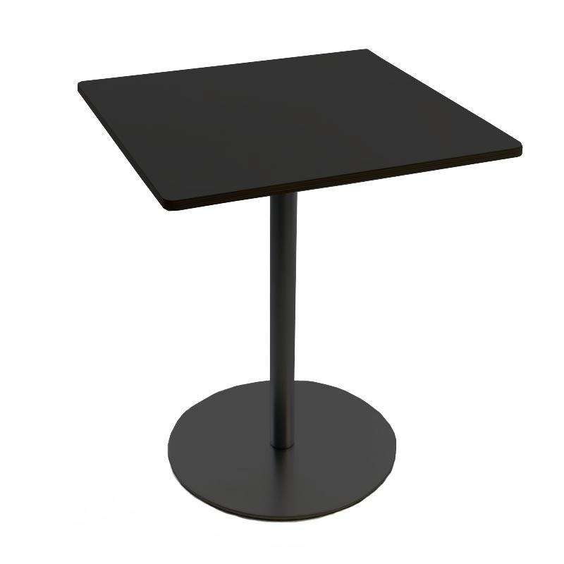 Bistrotisch Schwarz Eckig.Brio Fix Bistrotisch Gestell Schwarz H 72cm