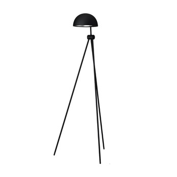 Lightyears - Radon Leseleuchte/Stehleuchte - schwarz/matt/H: 120cm