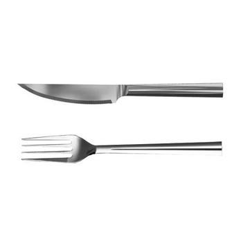 Rosendahl Design Group - Grand Cru Steakset 2tlg. - edelstahl/Set bestehend aus Steakmesser & Steakgabel