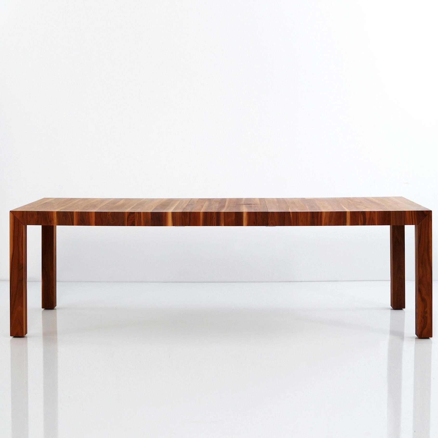 More  Volta Solid Wood Dining Table Extendable