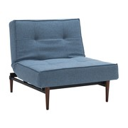 Innovation - Splitback Styletto Easy Chair Dark Wood