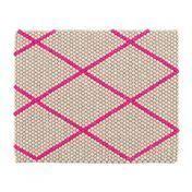 HAY - S&B Dot Teppich 80x100cm - hot pink/80x100cm